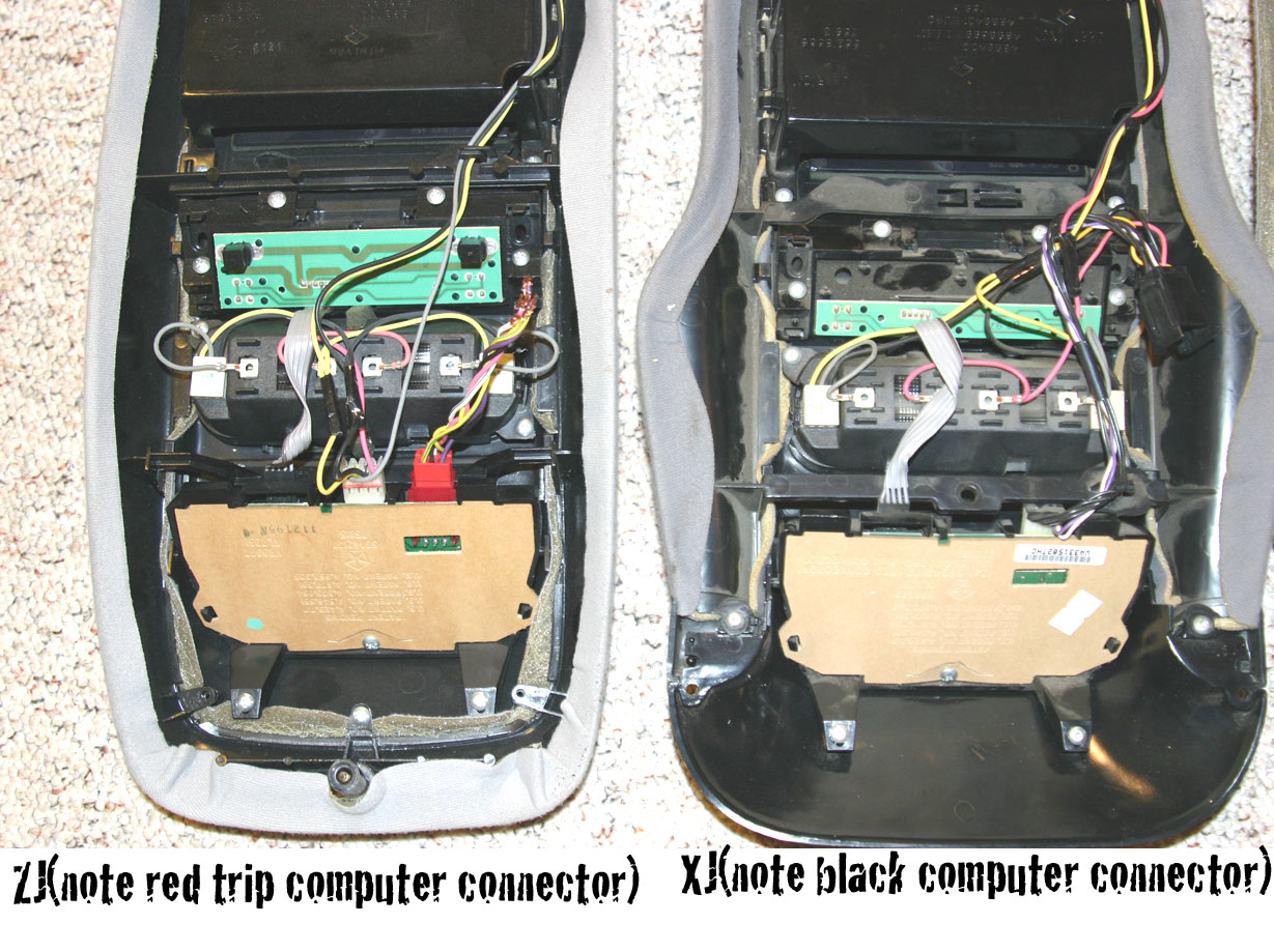 Installing a ZJ/XJ overhead console: - NAXJA Forums ... on