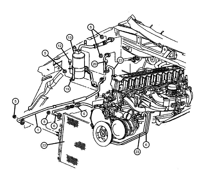 2006 jeep commander ac system diagram