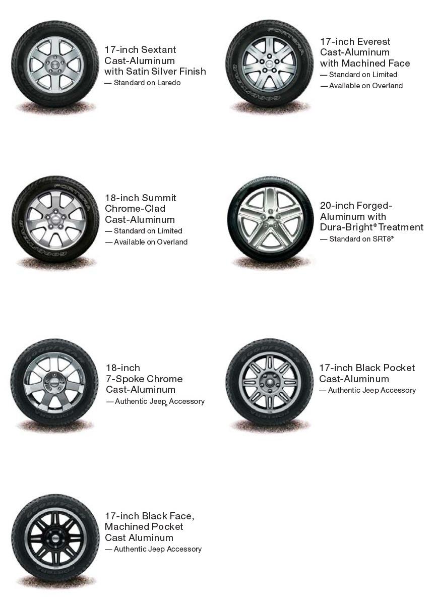 Colorado4wheel Com Jeep Grand Cherokee Wk Factory Wheel