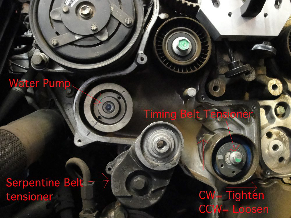 how to guide: jeep liberty 2.8 crd timing belt replacement:  colorado4wheel.com